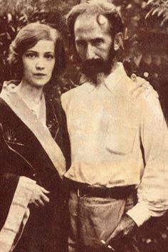 Horacio Quiroga con su primera esposa