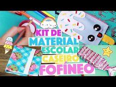 CRIANDO KIT DE MATERIAL ESCOLAR CASEIRO SEM GASTAR NADA #8  | KIM ROSACUCA - YouTube