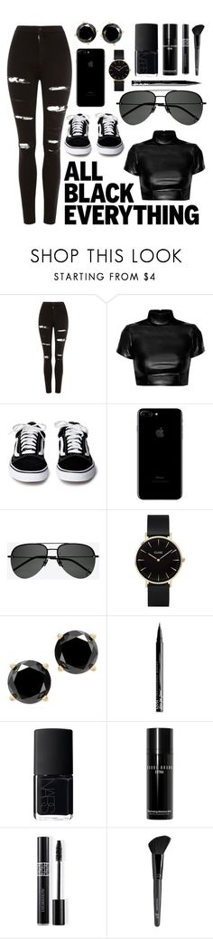 """""""Untitled #110"""" by believerofhappiness ❤ liked on Polyvore featuring Topshop, Yves Saint Laurent, CLUSE, NYX, NARS Cosmetics, Bobbi Brown Cosmetics, Christian Dior and Old Navy"""