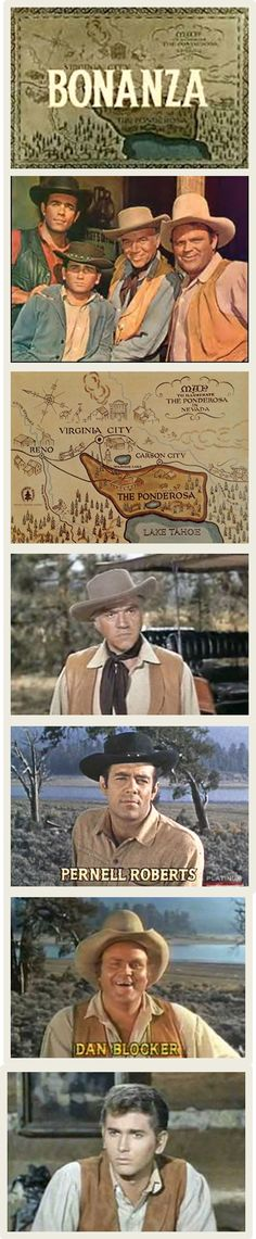 Another favorite with Michael Landon as Little Joe