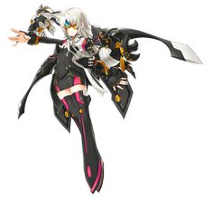 Full Body Skill Cut-in. Elsword Game, Game Black, Female Characters, Fictional Characters, Art Poses, Darth Vader, Coding, Cats, Anime