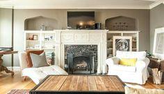 Fireplace - The Marlborough Apartments