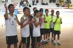 Colegio Pablo Sexto en voleibol, único clasificado por Risaralda en la A