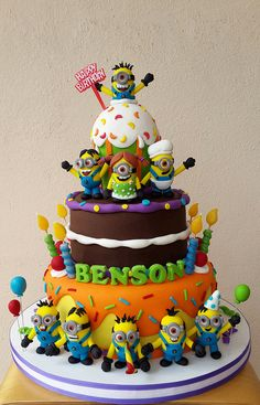 Minions Birthday Celebration