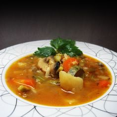 Χορτόσουπα χειμωνιάτικη με λαχανικά