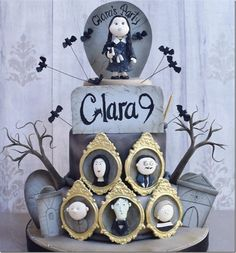 Addams Family 9th Birthday Cake made by Lis Fonseca Sugarcraft