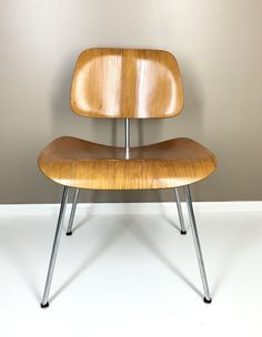 Vintage Herman Miller Charles And Ray Eames DCM Vintage Molded Plywood Chair All Original by NielsenModerne on Etsy