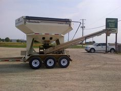 Another satisfied customer: currently using unit as a weigh wagon and for seed delivery. Sold by Devolder Farms
