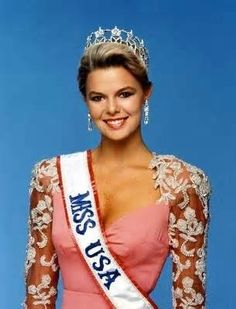 Christy Fichtner Miss USA 1986 from Texas