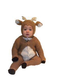 Ravelry: Critter Kids White Tail Deer Newborn-25 lbs pattern by Sharon Hackett