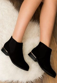 Looking for Ankle Boots? Call off the search with our Dover Flat Chelsea Ankle Boots Black Suede Style. Chelsea Ankle Boots, Black Ankle Boots, Fancy Shoes, Cute Shoes, Fashion Boots, Sneakers Fashion, Bootie Boots, Shoe Boots, Dress With Boots