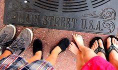 "Main Street USA - ""must take"" family photo opp!  www.facebook.com/piratemompenny"