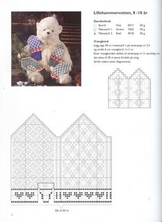 Photo from album Norske Luer - Norske Votter on Yandex.Disk - - Photo from album Norske Luer - Norske Votter on Yandex. Knitted Mittens Pattern, Knit Mittens, Knitted Gloves, Knitting Charts, Baby Knitting Patterns, Crochet Baby, Knit Crochet, Baby Barn, Wrist Warmers