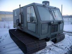 Bombardier tracked vehicle