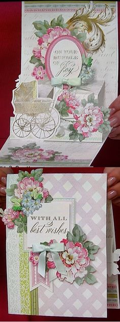 Anna Griffin® Pretty Pop-Ups All-Occasion Cardmaking Kit - 7638574 3d Cards, Pop Up Cards, Anna Griffin Inc, Anna Griffin Cards, Card Making Kits, Making Ideas, Side Step Card, Hand Made Greeting Cards, Wax