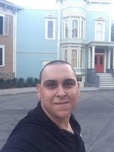 Mark Sinacori at the Fuller House house at Warner Bros in November of 2015