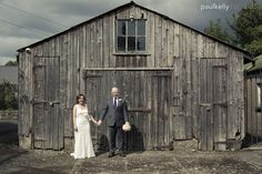 A rustic wedding with a touch of vintage.We love it when backdrops like this barn  present themselves and allowe us to shoot artistic shots like this. From Jeanette and Billy's wedding shot by pkstudio3
