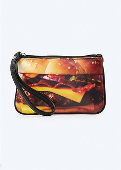 Bacon Cheeseburger Wristlet | Wallets & Wristlets | rue21
