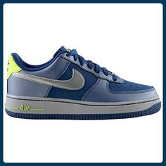 Nike Air Force 1 Blue Grey Youths Trainers Size 37.5 EU - Sneakers für frauen (*Partner-Link)