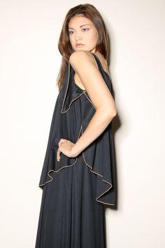 Vintage 70s Grecian Maxi Dress http://thriftedandmodern.com/vintage-70s-grecian-maxi-dress