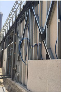 Advanced construction technologies like the FRAMECAD System hold many advantages over traditional construction techniques. The FRAMECAD design and build methodology is all about the rapid construction of quality buildings, and delivers a faster return on investment and new business opportunities. Concrete Insulation, Building Systems, Steel Structure, Business Opportunities, Buildings, Construction, Technology, Traditional, Design