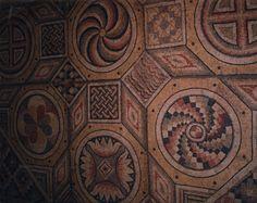 roman mosaic details ornaments - بحث Google