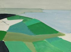 a landscape painting with abstraction in lot 17, Cap Blanc Nez by Nicolas de Stael (1914-1955).