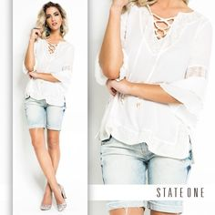 State One sempre dá um toque especial no seu look. #stateone #fashion #love #look