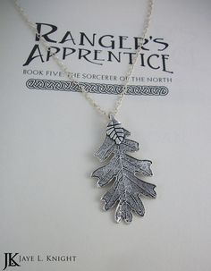 Silver Oak Leaf Rang