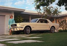 The Ford Mustang was introduced at the 1964 World's Fair
