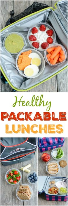 Three tips for assembling Healthy Packable Lunches For Kids that are quick and satisfying to help fuel kids through their busy afternoons! (ad)