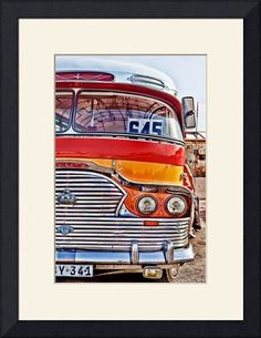 """""""Malta"""" by Lillis Werder, Manassas, Virginia // Vintage Bus in Malta // Imagekind.com -- Buy stunning fine art prints, framed prints and canvas prints directly from independent working artists and photographers."""