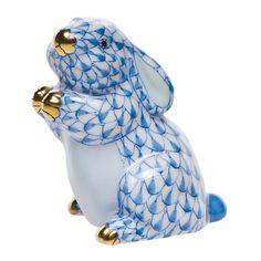 Herend 'Pudgy Bunny' at London Jewelers in our Manhasset Gift Salon! (516) 627-7475
