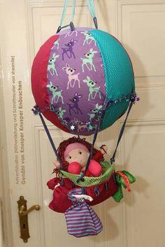 Adventskalender -Adventsballon- (Nähanleitung und Schnittmuster von shesmile) hier genäht von Knusper Knusper Knäuschen
