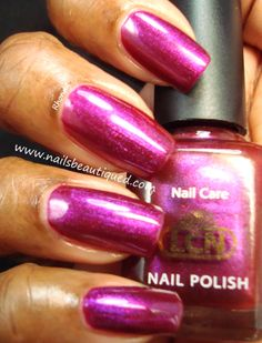 LCN | Homecoming Collection, Berry Punch | Nails Beautiqued