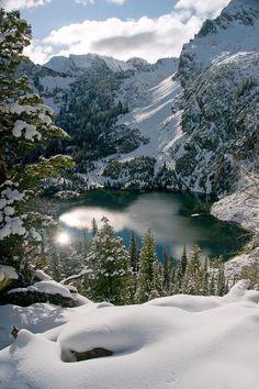 Alpine Lake ~ Sawtooth Mountains, Idaho USA