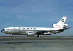 Varig McDonnell Douglas DC-10-30 PP-VMD at Paris-Charles de Gaulle, January 1987. (Photo: Michel Gilliand)