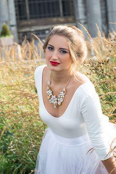 Model: Angela Bell  Makeup: Makeup by Kimber Leigh  Photography: Meghan Lambka for Mode Photo LLC