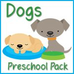 Our kids love animals, so anything dog related is a  sure hit! This pack has lots of great learning  printables to use with your preschooler when  learning about dogs and pets.