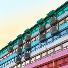 Stripes and balconies in Kuopio #color #stripes #finland #travel #backpacking #visitkuopio #visitfinland #justgoshoot #instagood #building #geometric #minimal  #minimalism #minimalist #minimalove #mindtheminimal #city #candycontrast #architecture #abstract #architecturephotography #archimasters #archilovers #jj_geometry #minimal_lookup #art #iphoneonly #tv_pointofview #Enlight #streetlightsunited by heysupersimi