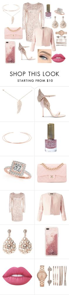 """""""fifty shades darker date"""" by lailasara ❤ liked on Polyvore featuring Latelita, Sophia Webster, Aamaya by Priyanka, Floss Gloss, Allurez, Chanel, Boohoo, Miss Selfridge, Case-Mate and GET LOST"""