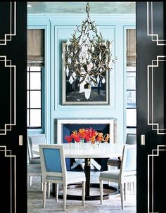 hello turquoise walls!
