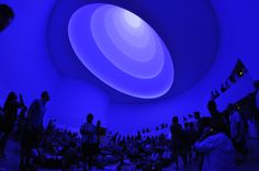 James Turrell - Site-specific installation, Guggenheim Museum, New York, 2013