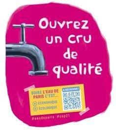 Une gourde 100% « made in france » pour le plus parisien des grands crus - Eau…