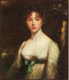 Lady Caroline Lamb, Lord Byron's lover, and niece of Georgiana, Duchess of Devonshire.