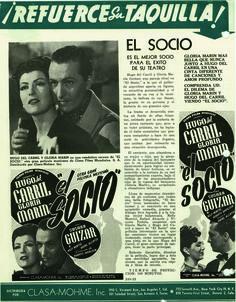 Resultado de imagen para pelicula mexicana EL SOCIO GLORIA MARIN