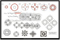 How to Tangle 15 Framlingham quaddles-roost by Quaddles-Roost.deviantart.com on @deviantART