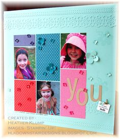Downstairs Designs: Sprinkled with smiles Wedding Scrapbook, My Scrapbook, Scrapbook Paper Crafts, Paper Crafting, Alphabet Art, Photo Layouts, Scrapbooking Layouts, Mini Albums, Stampin Up