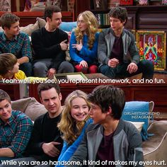 sabrina carpenter and uriah shelton. Girl Meets Game Night, Boy Meets Girl, Girl Meets World, Riley Matthews, World Quotes, Tv Quotes, Crush Quotes, Movie Quotes, Funny Quotes
