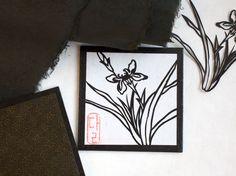 Iris Coaster: Set of Two - papertree